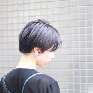 ショート ショートヘア モード ハンサムショート ヘアスタイルや髪型の写真・画像