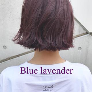 レッド グレージュ ストリート ピンク ヘアスタイルや髪型の写真・画像