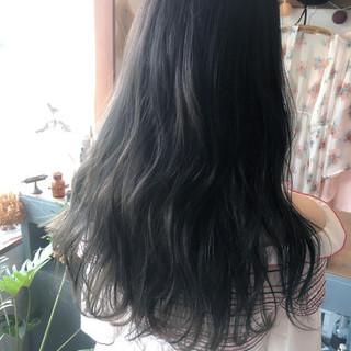 外国人風カラー グラデーションカラー ロング ブリーチ ヘアスタイルや髪型の写真・画像 ヘアスタイルや髪型の写真・画像