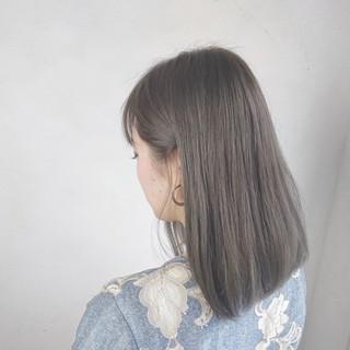 ガーリー 透明感 アッシュ 外国人風 ヘアスタイルや髪型の写真・画像