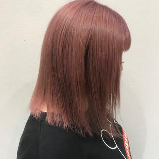 ブリーチ ダブルカラー フェミニン 可愛い ヘアスタイルや髪型の写真・画像