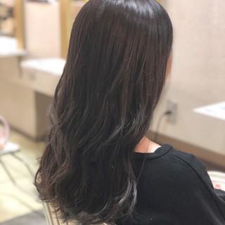 セミロング アンニュイ ヘアアレンジ ゆるふわ ヘアスタイルや髪型の写真・画像