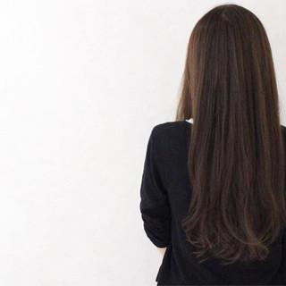 ロング 外国人風 ナチュラル アッシュ ヘアスタイルや髪型の写真・画像