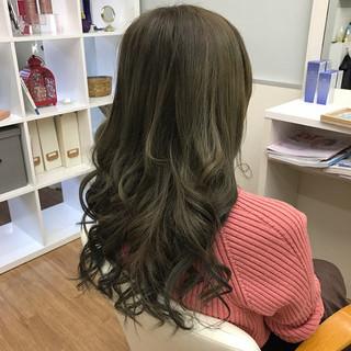 外国人風 ロング ヘアアレンジ 大人女子 ヘアスタイルや髪型の写真・画像