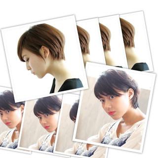 外国人風カラー ナチュラル 小顔 大人女子 ヘアスタイルや髪型の写真・画像