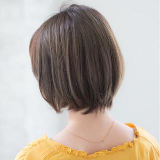 デート 小顔 大人かわいい ボブ ヘアスタイルや髪型の写真・画像