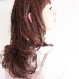 フェミニン パープル ナチュラル 大人女子 ヘアスタイルや髪型の写真・画像