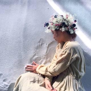 ヘアアレンジ ボブ ナチュラル フェミニン ヘアスタイルや髪型の写真・画像