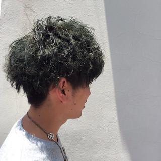 ボーイッシュ ショート マット アッシュ ヘアスタイルや髪型の写真・画像 ヘアスタイルや髪型の写真・画像