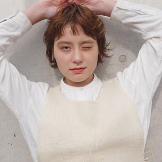 ミニボブ ショートボブ ショート 外国人風 ヘアスタイルや髪型の写真・画像