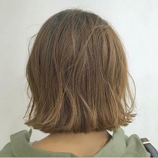 ボブ 外ハネボブ ボブヘアー ナチュラル ヘアスタイルや髪型の写真・画像
