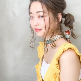 くるりんぱ ナチュラル デート ヘアアレンジ ヘアスタイルや髪型の写真・画像 ヘアスタイルや髪型の写真・画像