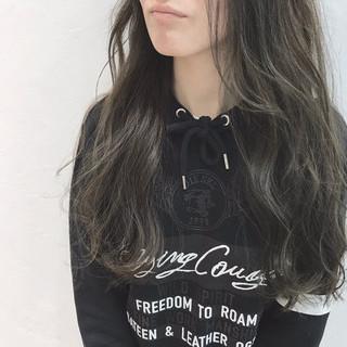 黒髪 モード ロング デート ヘアスタイルや髪型の写真・画像 ヘアスタイルや髪型の写真・画像