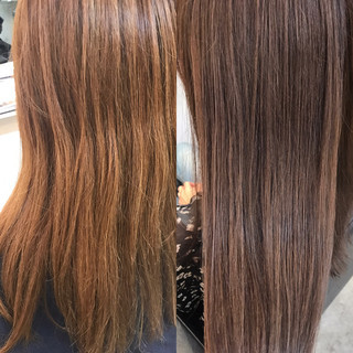 デート ロング リラックス 透明感 ヘアスタイルや髪型の写真・画像 ヘアスタイルや髪型の写真・画像