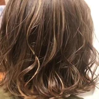外国人風 ナチュラル ボブ モテ髪 ヘアスタイルや髪型の写真・画像