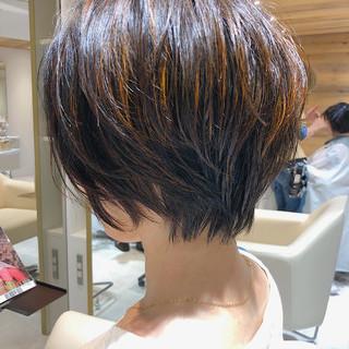 ナチュラル可愛い 小顔ショート ナチュラル 髪質改善トリートメント ヘアスタイルや髪型の写真・画像