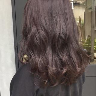 秋 ミディアム 大人女子 透明感 ヘアスタイルや髪型の写真・画像