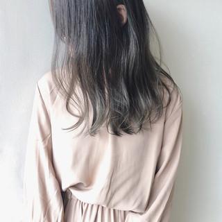 暗髪 透明感 ダメージレス ツヤ髪 ヘアスタイルや髪型の写真・画像