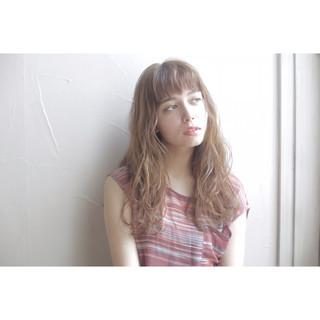 ナチュラル ロング ヘアアレンジ ブラウン ヘアスタイルや髪型の写真・画像 ヘアスタイルや髪型の写真・画像