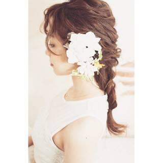 愛され セミロング 大人かわいい ゆるふわ ヘアスタイルや髪型の写真・画像