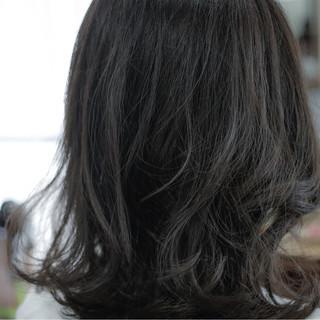 ストリート 暗髪 外国人風 グレージュ ヘアスタイルや髪型の写真・画像