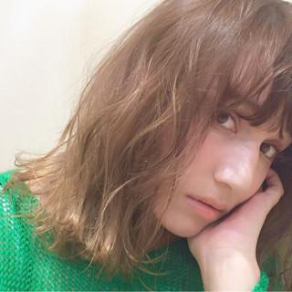 くせ毛風 簡単 パーマ ストリート ヘアスタイルや髪型の写真・画像
