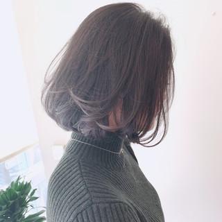 ナチュラル ボブ エアリー モテボブ ヘアスタイルや髪型の写真・画像