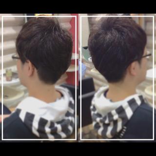 メンズヘア 髪質改善 大人ヘアスタイル ショート ヘアスタイルや髪型の写真・画像
