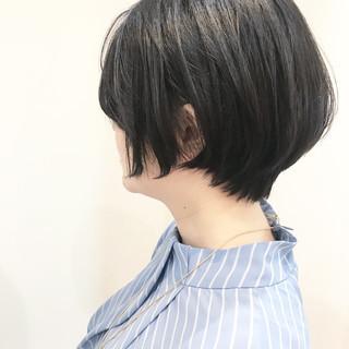 ヘアアレンジ 小顔ショート ハンサムショート ショートボブ ヘアスタイルや髪型の写真・画像 ヘアスタイルや髪型の写真・画像