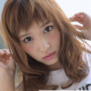 モテ髪 セミロング 色気 愛され ヘアスタイルや髪型の写真・画像