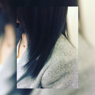 ミディアム ストリート 外国人風カラー ヘアスタイルや髪型の写真・画像