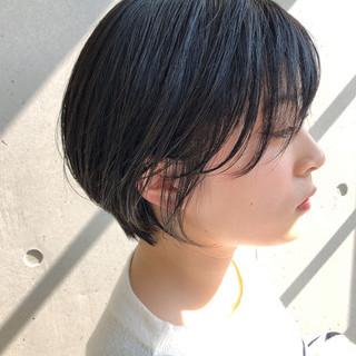色気 ショート 大人かわいい イルミナカラー ヘアスタイルや髪型の写真・画像
