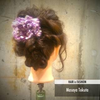 フェミニン ゆるふわ ヘアアレンジ ナチュラル ヘアスタイルや髪型の写真・画像 ヘアスタイルや髪型の写真・画像