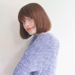 マルサラ ナチュラル コンサバ 愛され ヘアスタイルや髪型の写真・画像