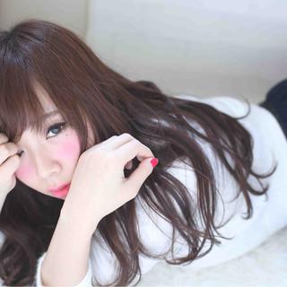 かわいい フェミニン ナチュラル ふわふわ ヘアスタイルや髪型の写真・画像 ヘアスタイルや髪型の写真・画像