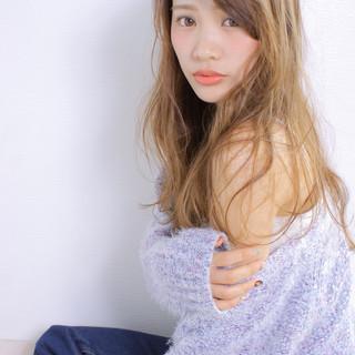 アンニュイほつれヘア 撮影 ロング モテ髪 ヘアスタイルや髪型の写真・画像