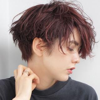 外国人風 大人かわいい ナチュラル ショート ヘアスタイルや髪型の写真・画像
