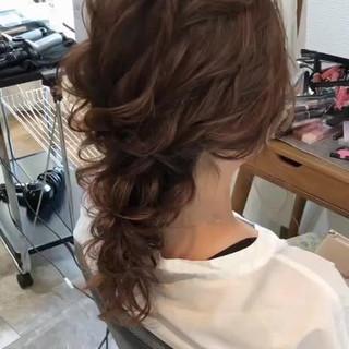 大人女子 ヘアアレンジ パーティ アンニュイ ヘアスタイルや髪型の写真・画像