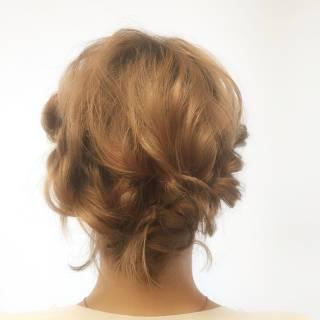愛され コンサバ フェミニン ヘアアレンジ ヘアスタイルや髪型の写真・画像