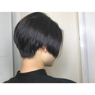 ショート ショートボブ モード ボブ ヘアスタイルや髪型の写真・画像