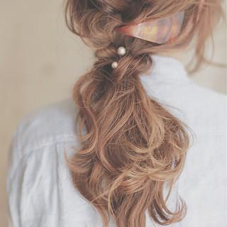 ロング ヘアアレンジ ショート ハイライト ヘアスタイルや髪型の写真・画像
