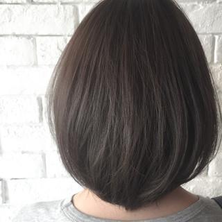 ブルージュ 透明感 アッシュ ナチュラル ヘアスタイルや髪型の写真・画像