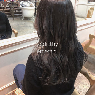 ナチュラル グレージュ ヘアアレンジ イルミナカラー ヘアスタイルや髪型の写真・画像 ヘアスタイルや髪型の写真・画像