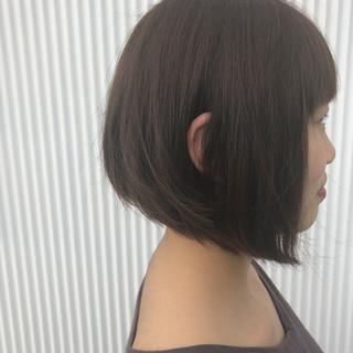 簡単ヘアアレンジ フェミニン 透明感 ボブ ヘアスタイルや髪型の写真・画像 ヘアスタイルや髪型の写真・画像