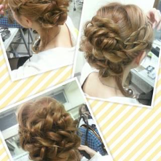 ヘアアレンジ ナチュラル モテ髪 セミロング ヘアスタイルや髪型の写真・画像
