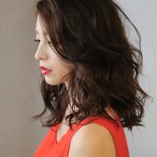 黒髪 きれいめ コンサバ 色気 ヘアスタイルや髪型の写真・画像