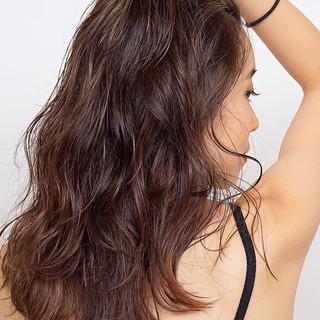ヘルシー ロング ナチュラル ヘルシースタイル ヘアスタイルや髪型の写真・画像