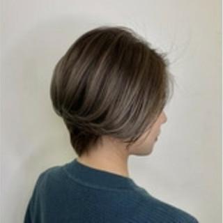 ショート エレガント 透明感 外国人風 ヘアスタイルや髪型の写真・画像