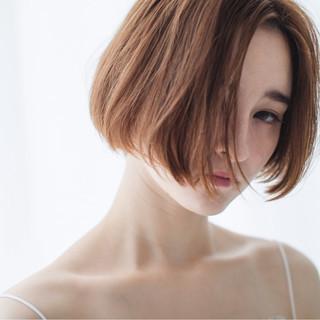 大人女子 モード ボブ 秋 ヘアスタイルや髪型の写真・画像