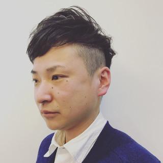 ショート ゆるふわ ボーイッシュ パーマ ヘアスタイルや髪型の写真・画像